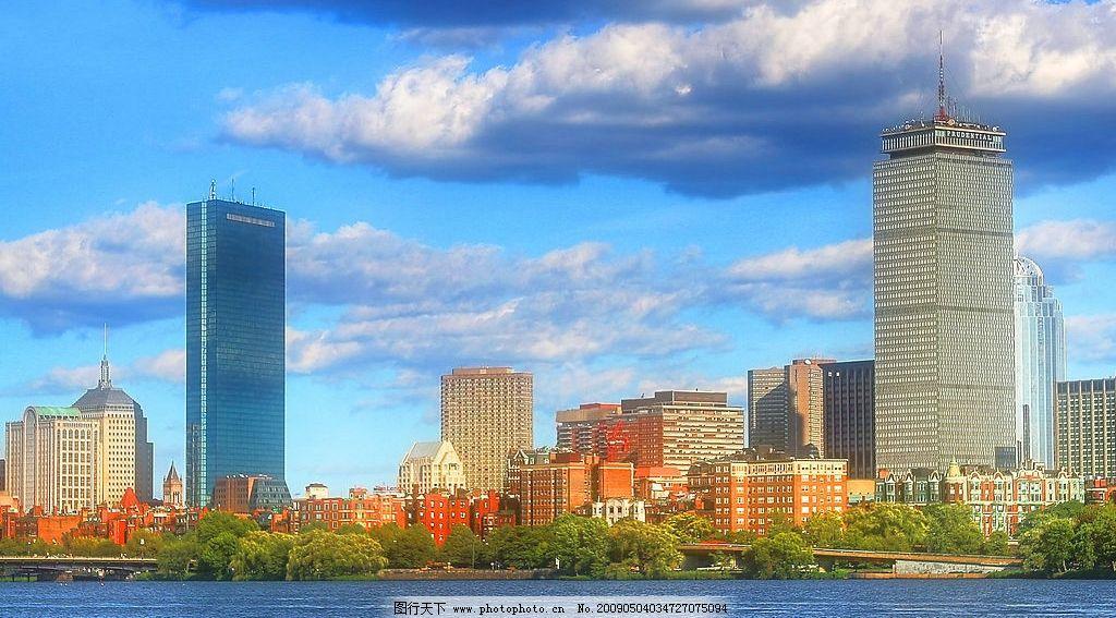 城市景觀 城市 建筑 燈光 公路 風景 高樓大廈 景觀 立交橋 河邊 自