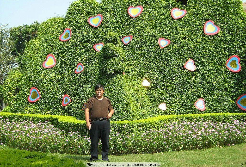 椭圆形花池造型图片