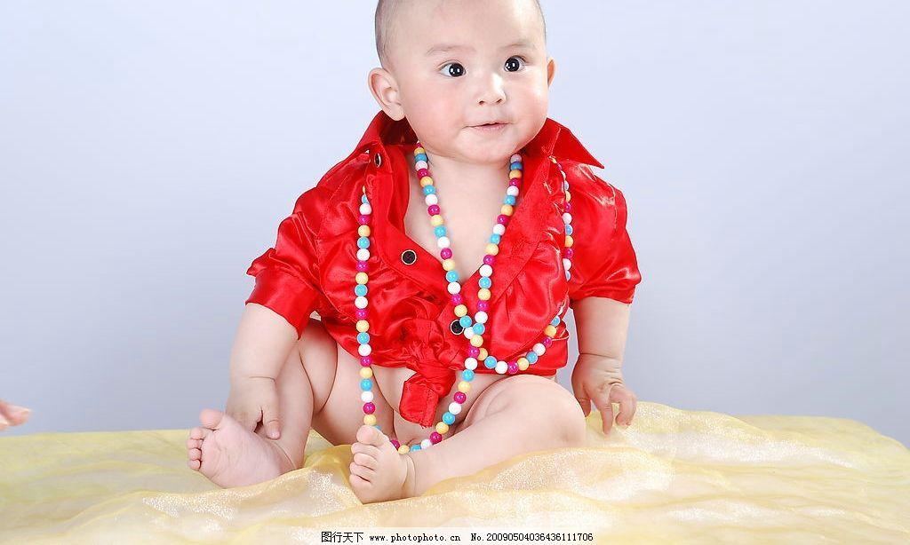儿童 儿童摄影 可爱的小宝宝 人物 纱 表情 人物图库 儿童幼儿 摄影