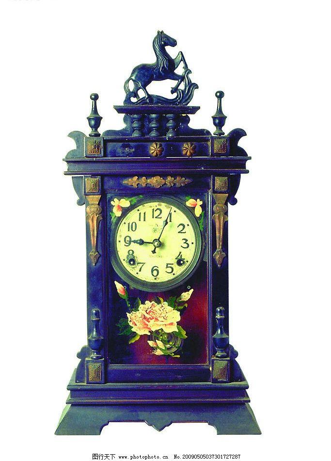 老式座钟图片图片