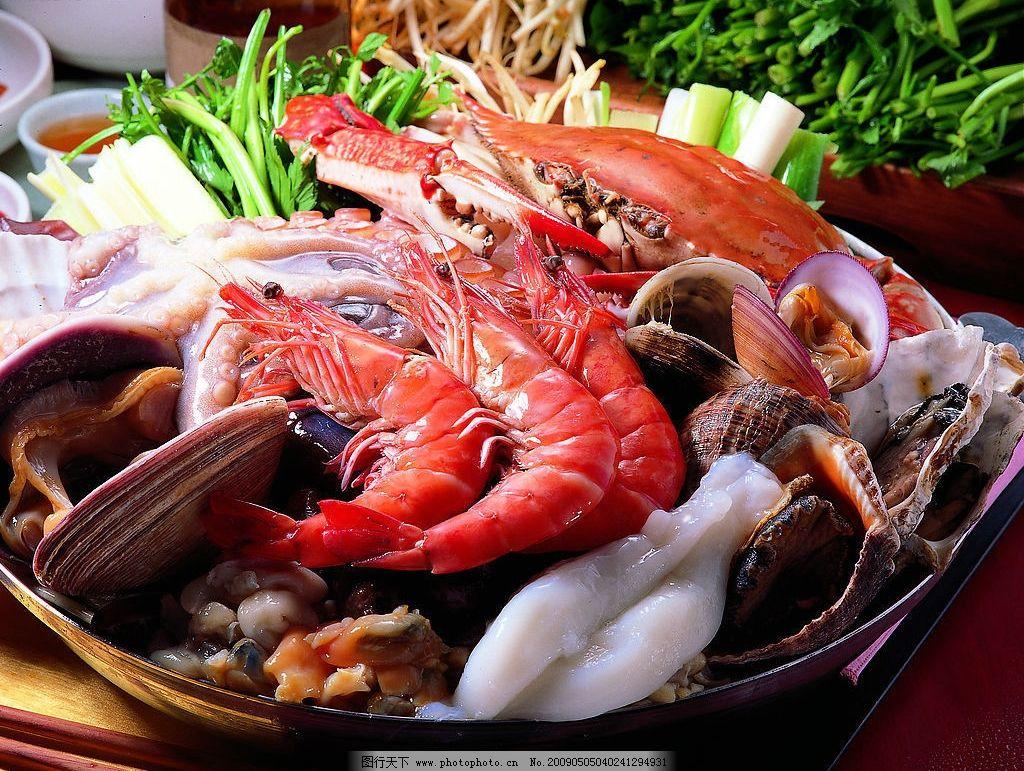 韩国烧烤海鲜火锅 韩国烧烤 海鲜火锅 食物 餐饮美食 其他 摄影图库