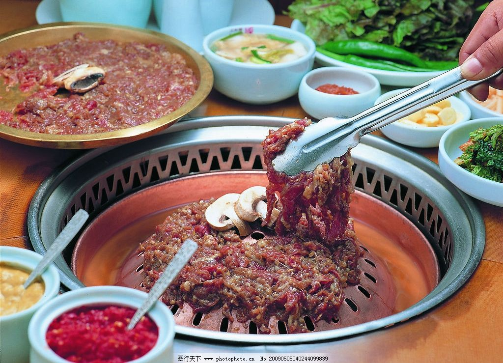 韩国烧烤韩式烧烤图片图片