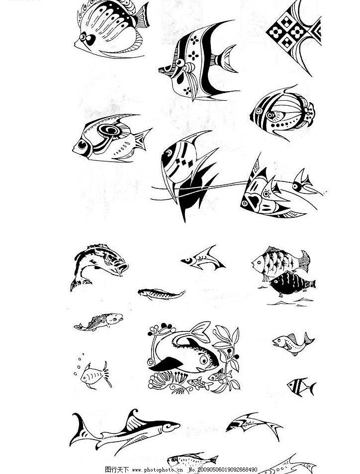 动物扫描 卡通 动物 手绘动物 其他 图片素材 设计图库 300dpi jpg