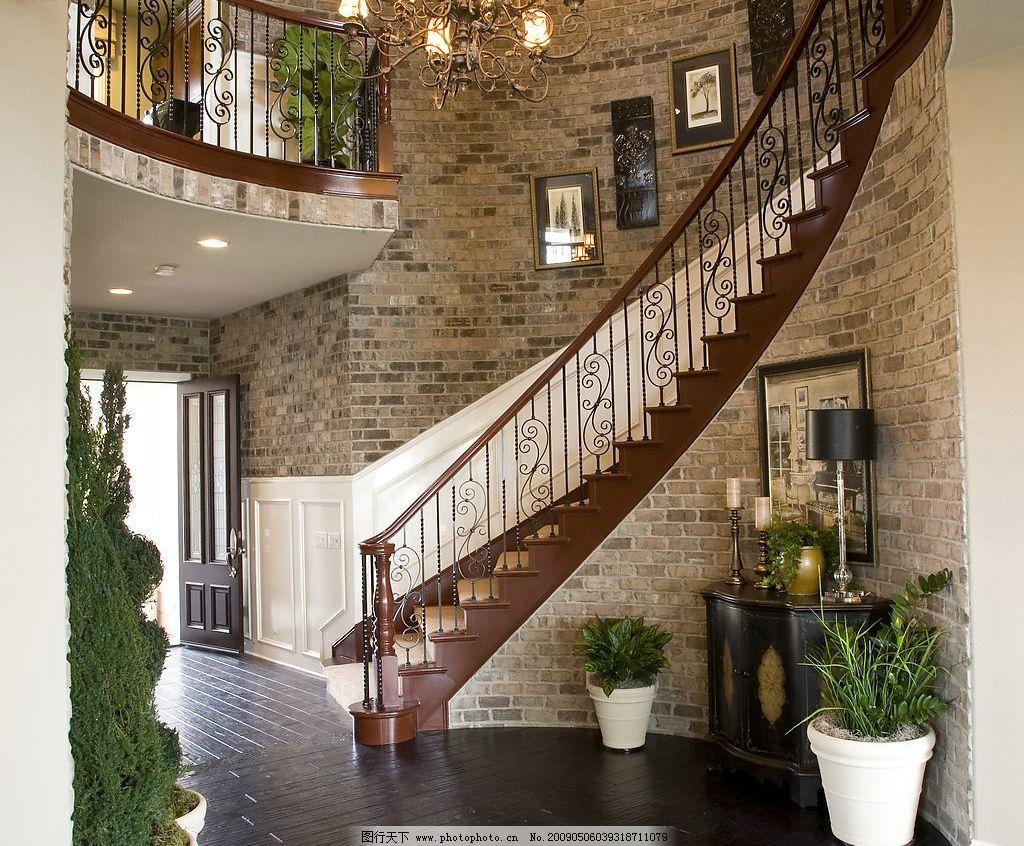 欧式时尚家居图片,楼梯 装修设计 高清图片 建筑园林