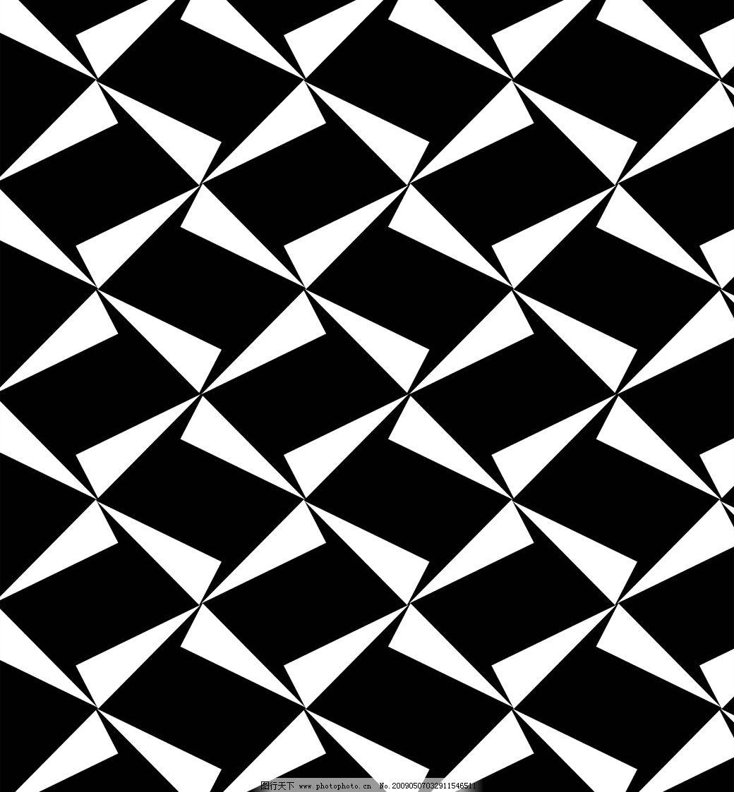 装饰三角形花纹图片