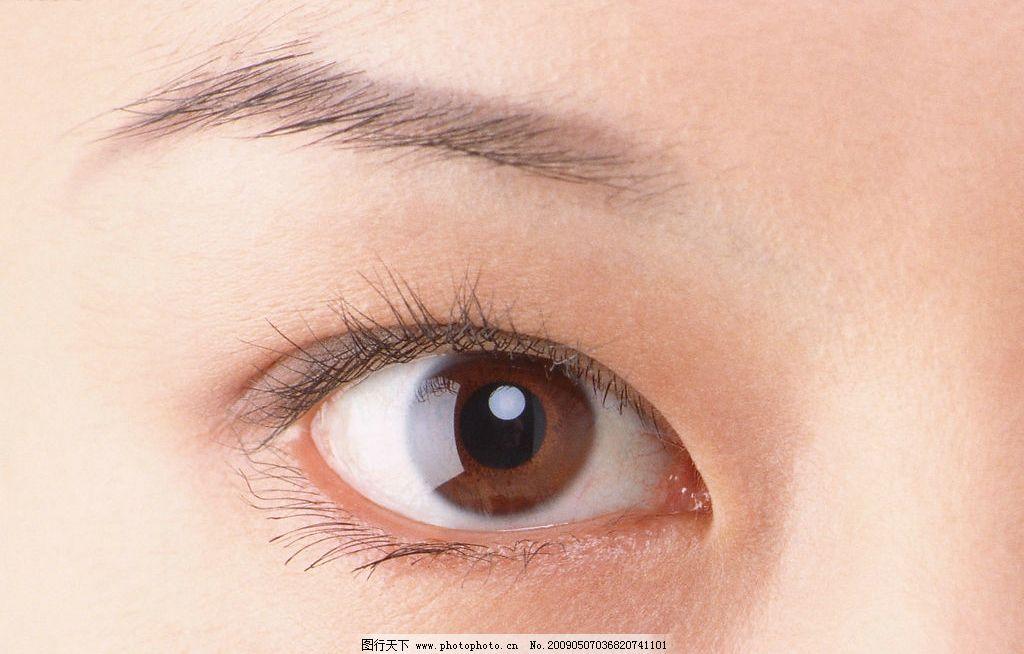 眼睛 眼睛特写 眼部 女性眼睛 人物图库 女性女人 摄影图库 350dpi jp