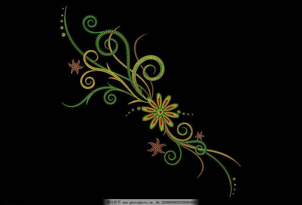 高贵 典雅 华贵 素材 底纹边框 花边花纹 设计图库 72dpi jpg 炫彩