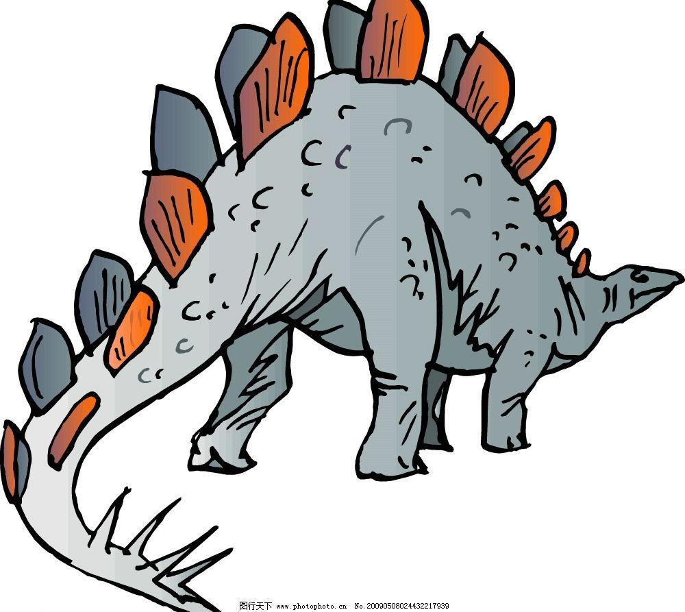 恐龙 矢量图库