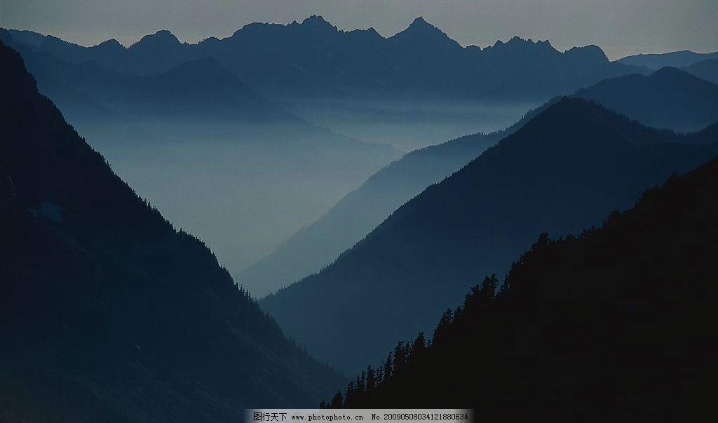 云山 云 山 雾 旅游摄影 自然风景 摄影图库 72dpi jpg