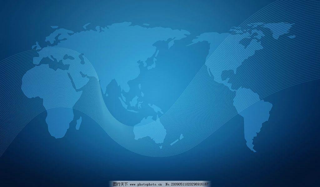 蓝色世界版块背景 世界版块 蓝色背景 设计图库 300dpi jpg 底纹边框