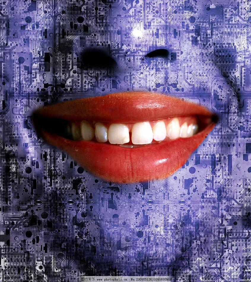 科技 创意 人物 集成电路