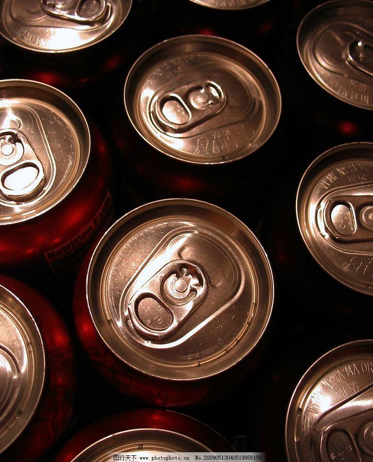 饮料酒水  易拉罐图片素材 特写 饮料包装 易拉罐 金属质感 高清图片