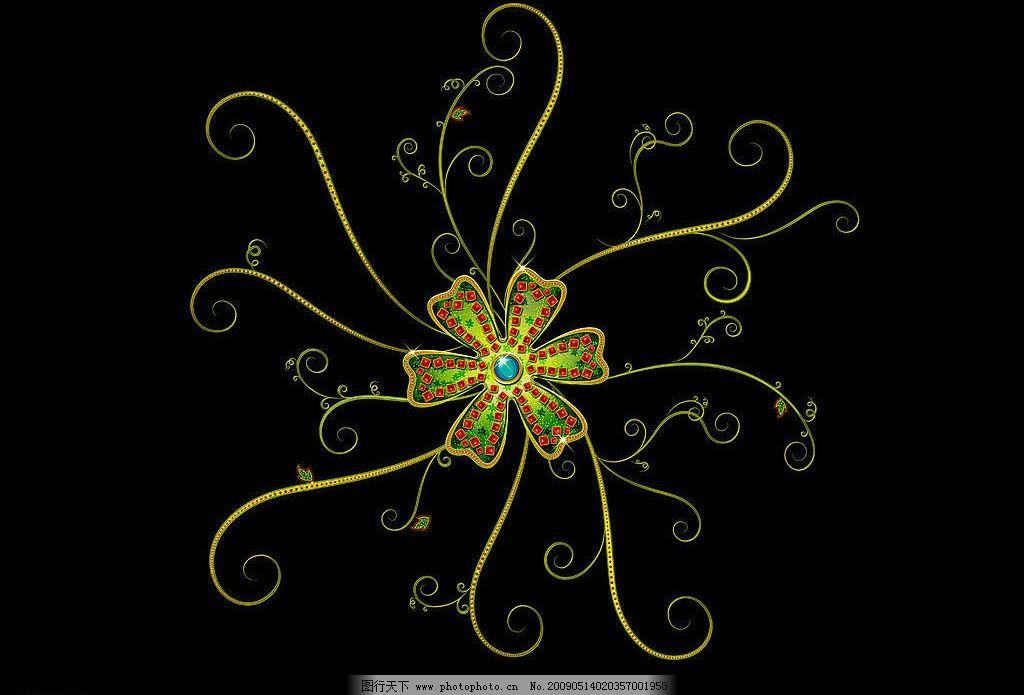 炫彩花纹 古代 古典 图案 欧式 高贵 典雅 华贵 底纹边框 花边花纹