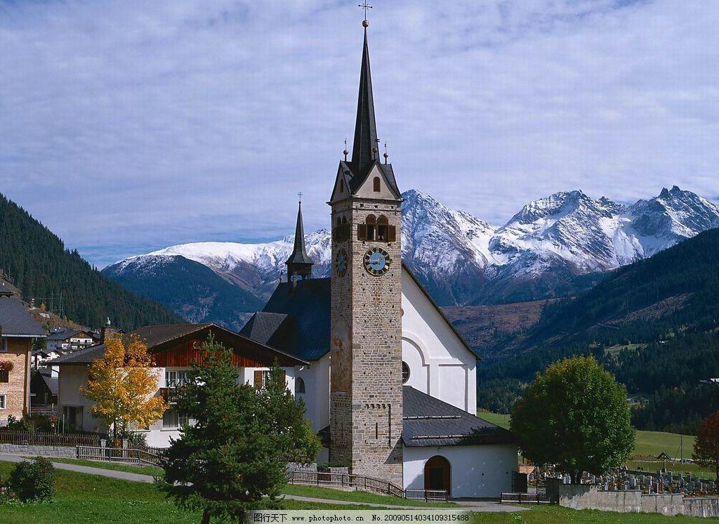 欧式 建筑 教堂