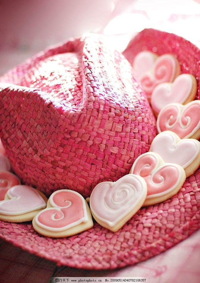 糖果 白巧克力 粉色糖果 帽子 餐饮美食 其他 摄影图库 619dpi jpg