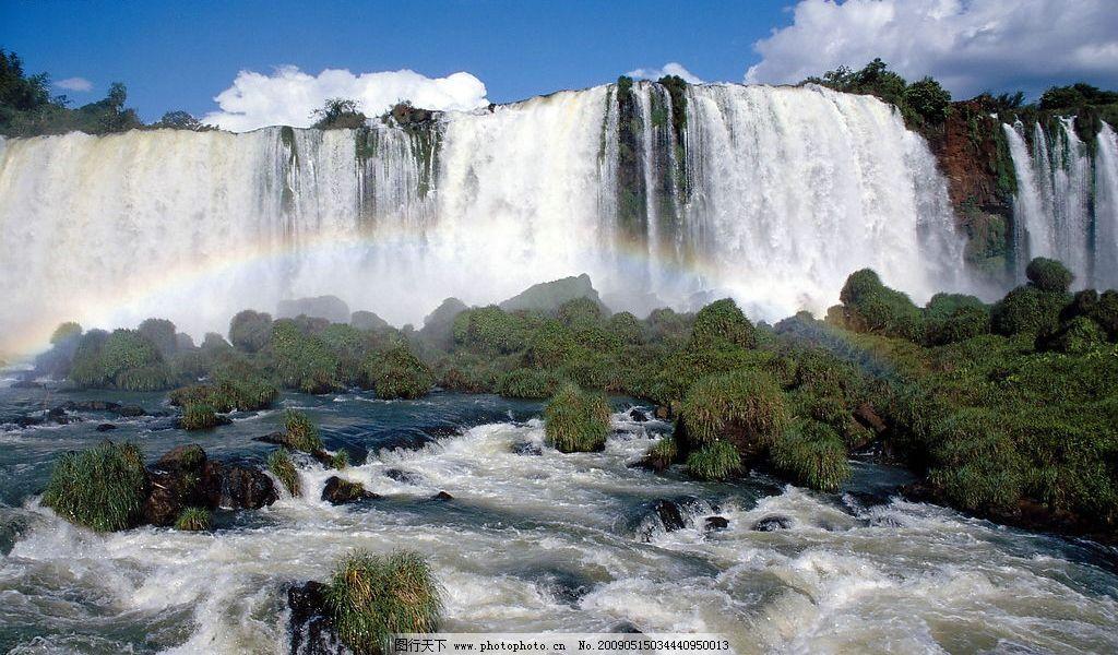 大瀑布图片_山水风景_自然景观