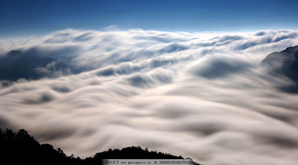 云海 幻境 自然景观 自然风景 摄影图库