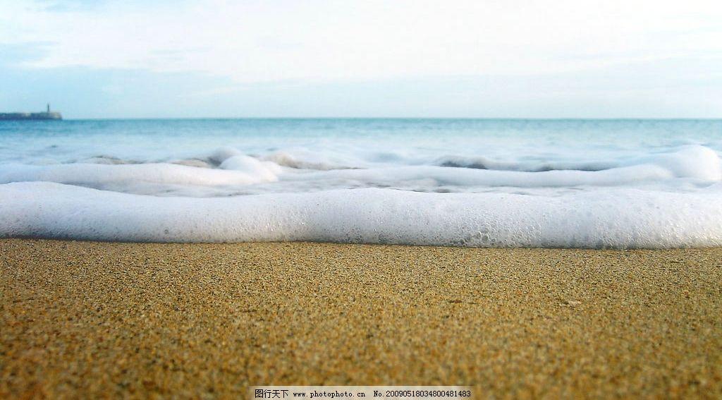 海边风景 美丽风景 海边 沙滩 海水 蓝天 白云 云层 天空 景色 自然
