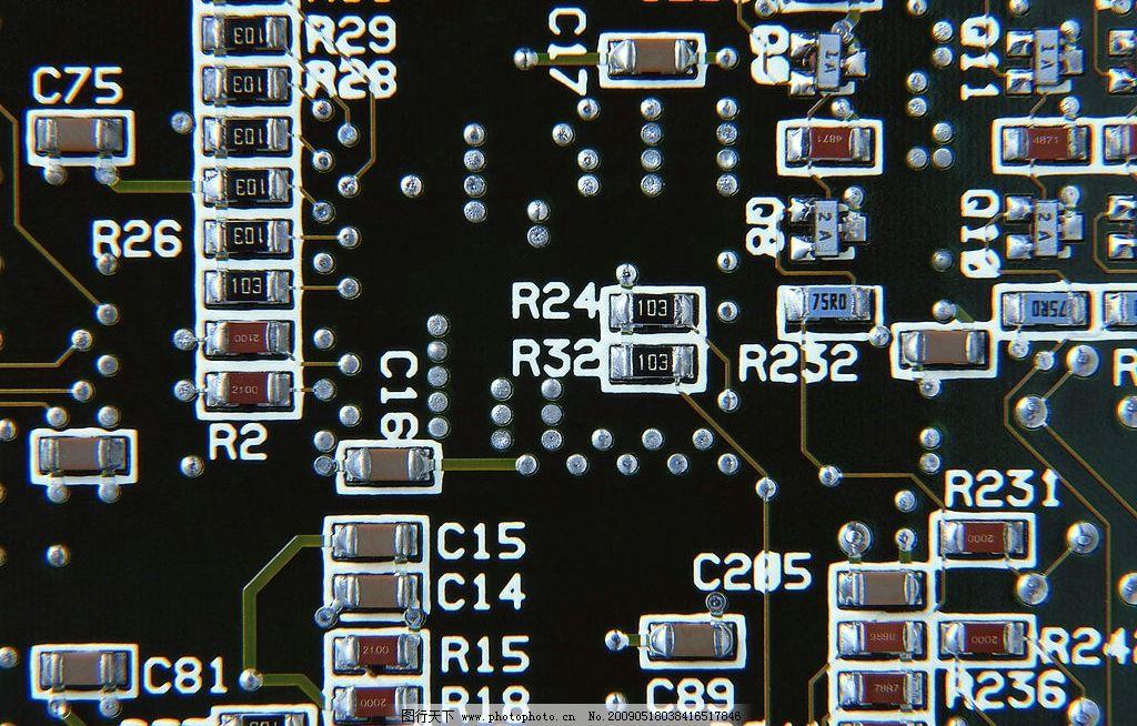 电路板 线路 科技 现代