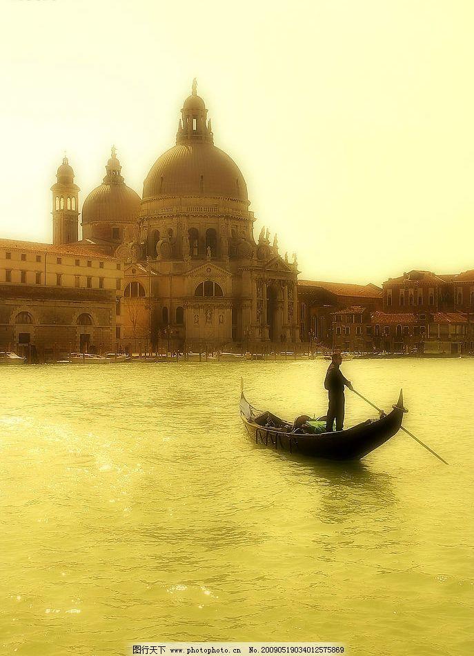 浪漫威尼斯城市风光