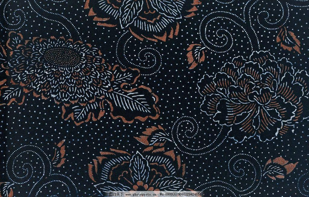 深蓝色布料材质贴图图片