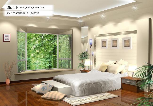 主卧室 主卧室图片免费下载 室内设计 卧室设计 中式风格 主卧室设计
