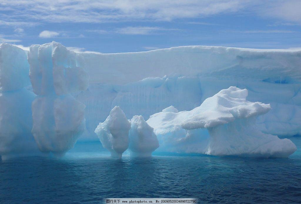 冰山 冰雪 极地 冬天 寒冷 南极 北极 自然景观 自然风景 摄影图库 72