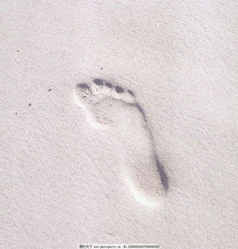 沙地脚雕 高清 沙地脚印 生活百科 生活素材 摄影图库 200dpi jpg