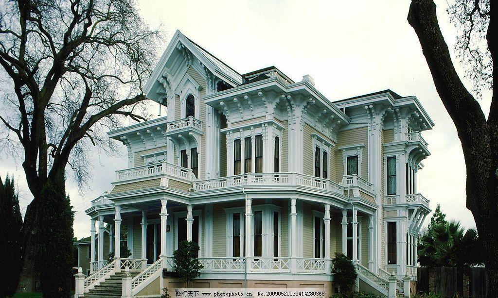 别墅 建筑 欧式 建筑园林 建筑摄影 摄影图库 72dpi jpg