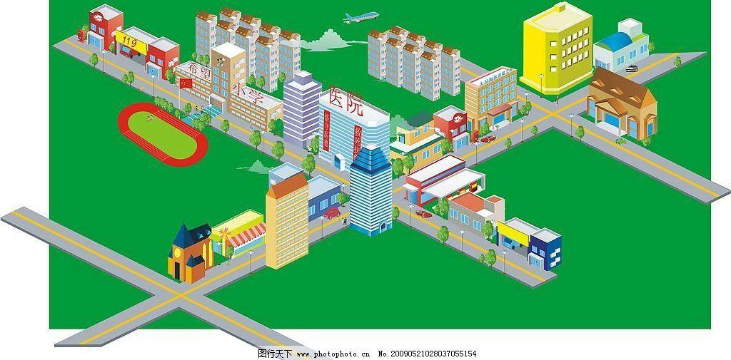 超大场景图片_建筑设计_环境设计_图行天下图库