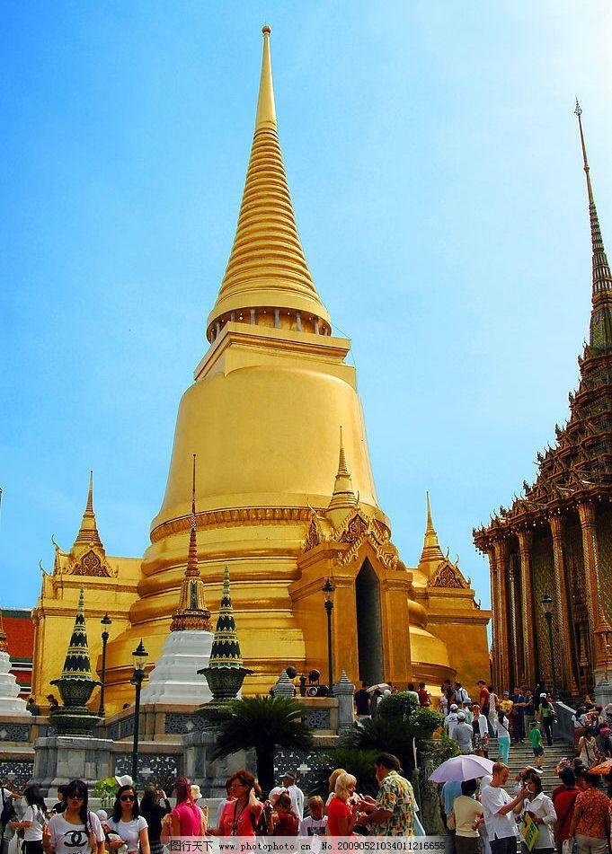 泰国大皇宫 泰国 大皇宫 新马泰 泰国五世皇 泰国标志性建筑 旅游摄影