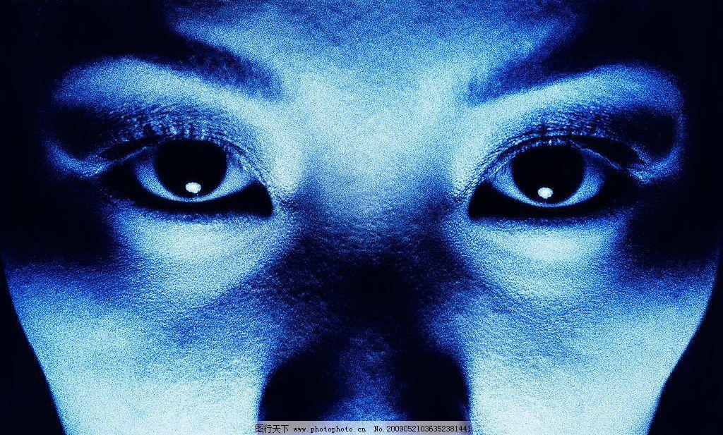 恐惧的眼睛图片