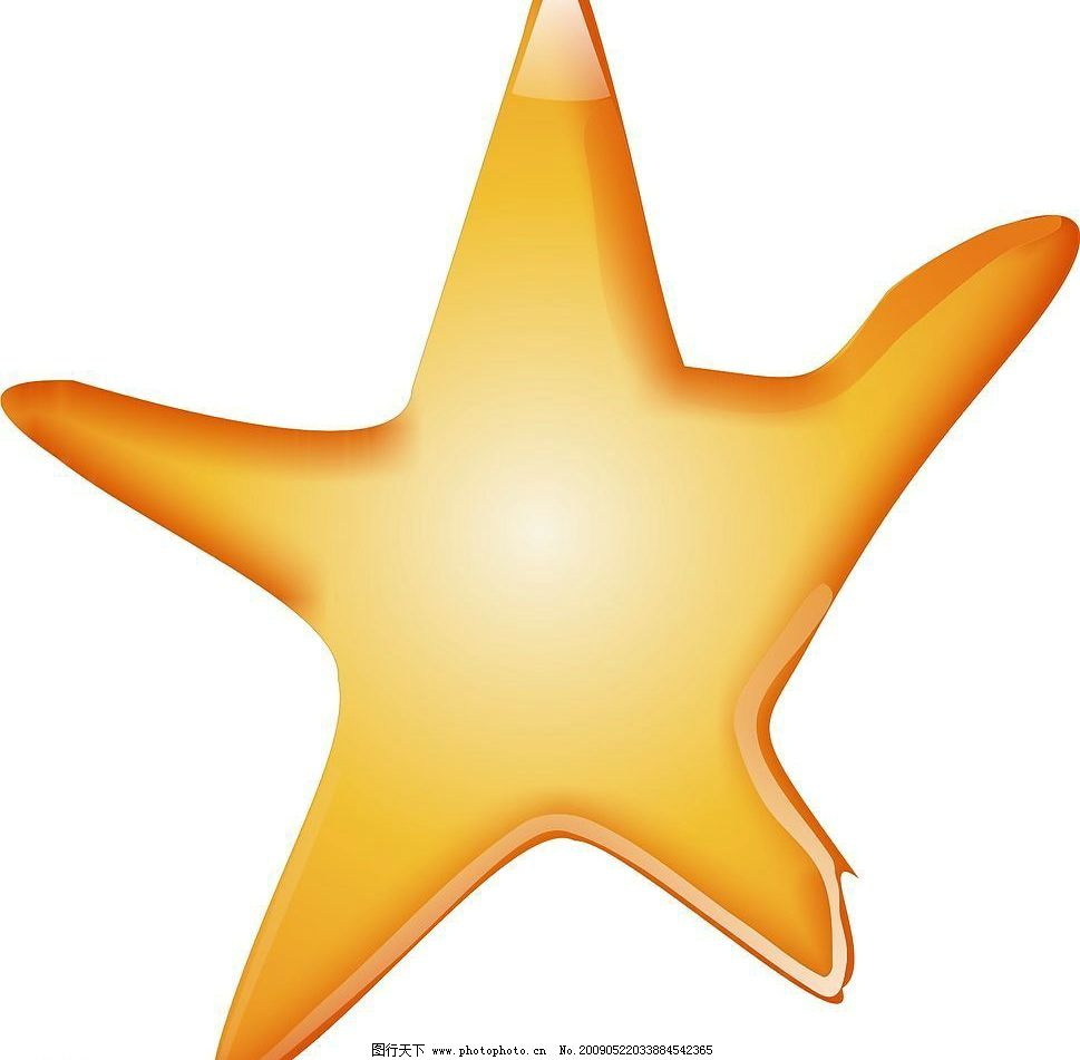 小海星 小星星 小装饰 其他矢量 矢量素材 矢量图库 cdr