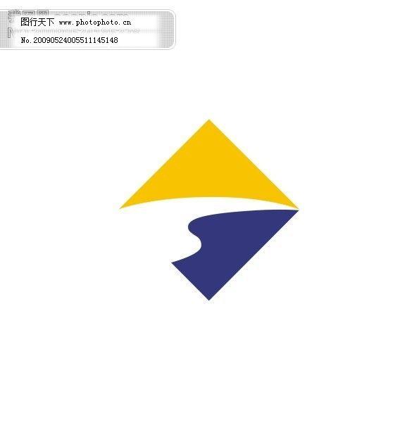 标志 企业logo标识标记 矢量图 银行 银行 标志 logo 上海银行 矢量图