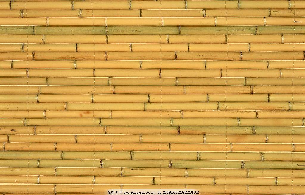 细竹子排列 天然 本色 竹节 底纹边框 背景底纹