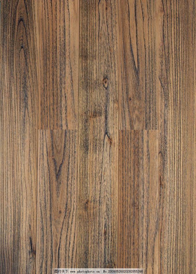 金泰柚木拉丝茶青色(船甲板)地板图片