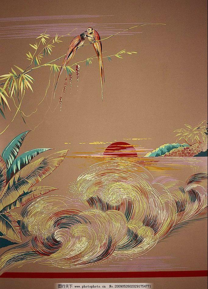 刺绣花纹图片