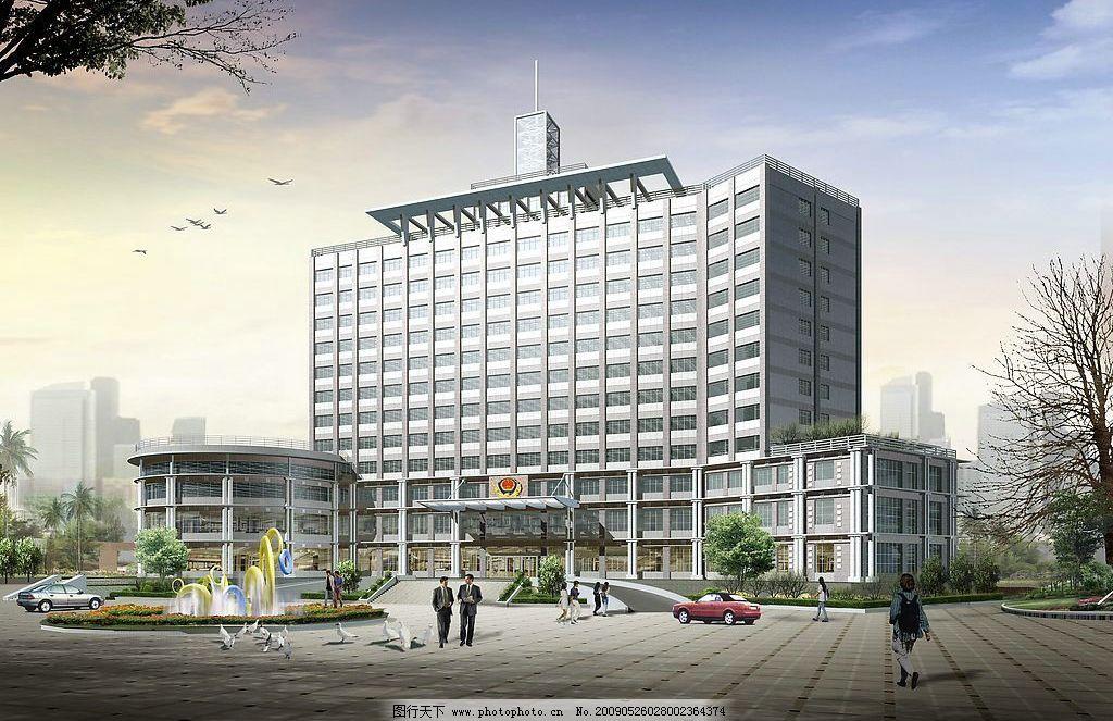 透视图 jpg 透视 别墅透视 建筑设计        环境设计 办公楼 设计