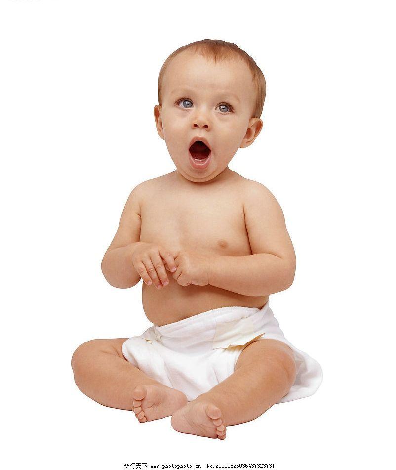 幼儿表情 幼儿人物 可爱的宝宝 打哈欠 幼儿姿势 人物图库 儿童幼儿