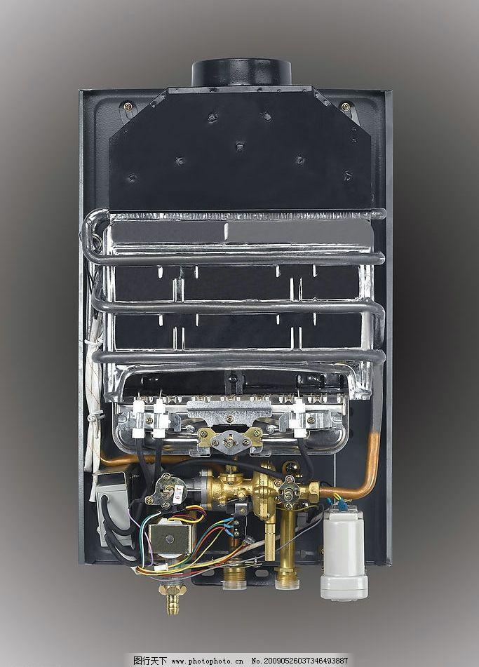 燃气热水器内部结构图片