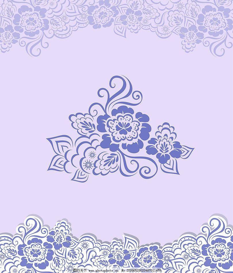 欧洲古典贵族花纹图片
