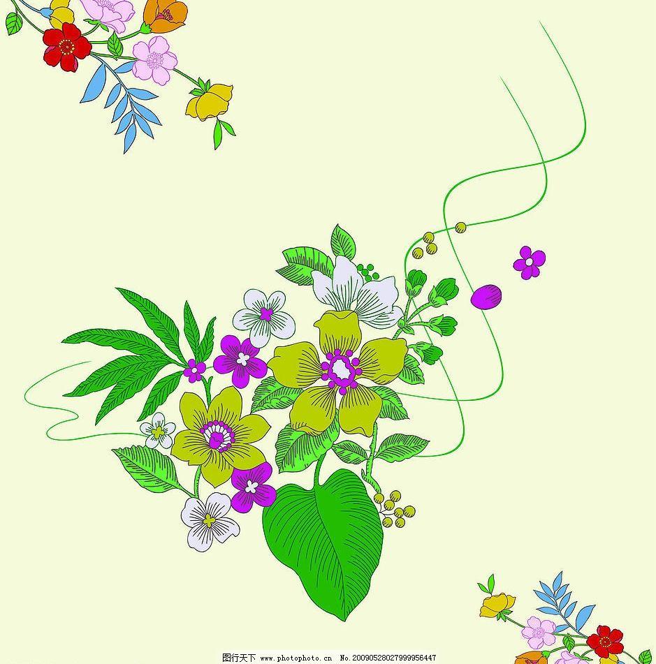 陪衬 室内移门 移门图片 鲜花 花草 布艺花纹 环境设计 室内设计 设计