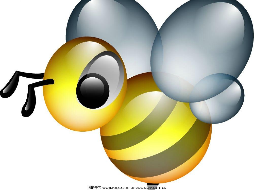 ai手绘蜜蜂图片