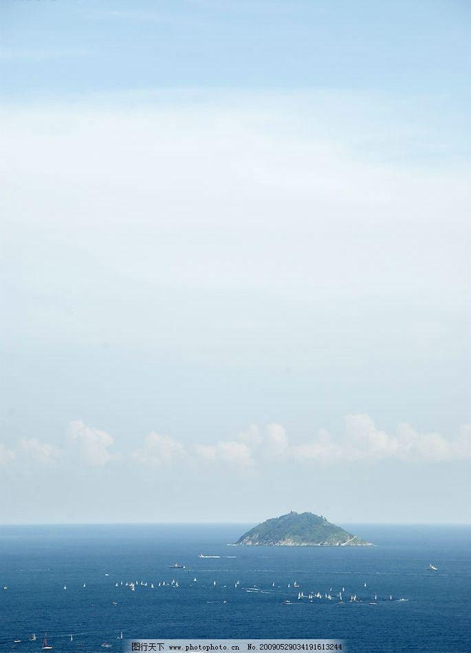 大海 蓝天图片