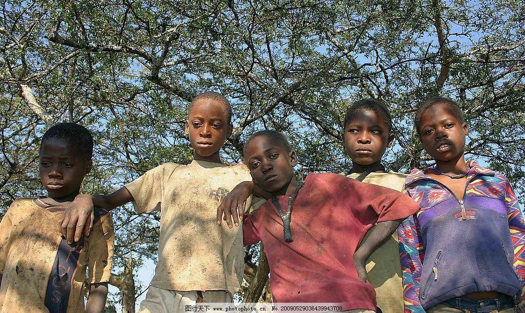 非洲小孩图片
