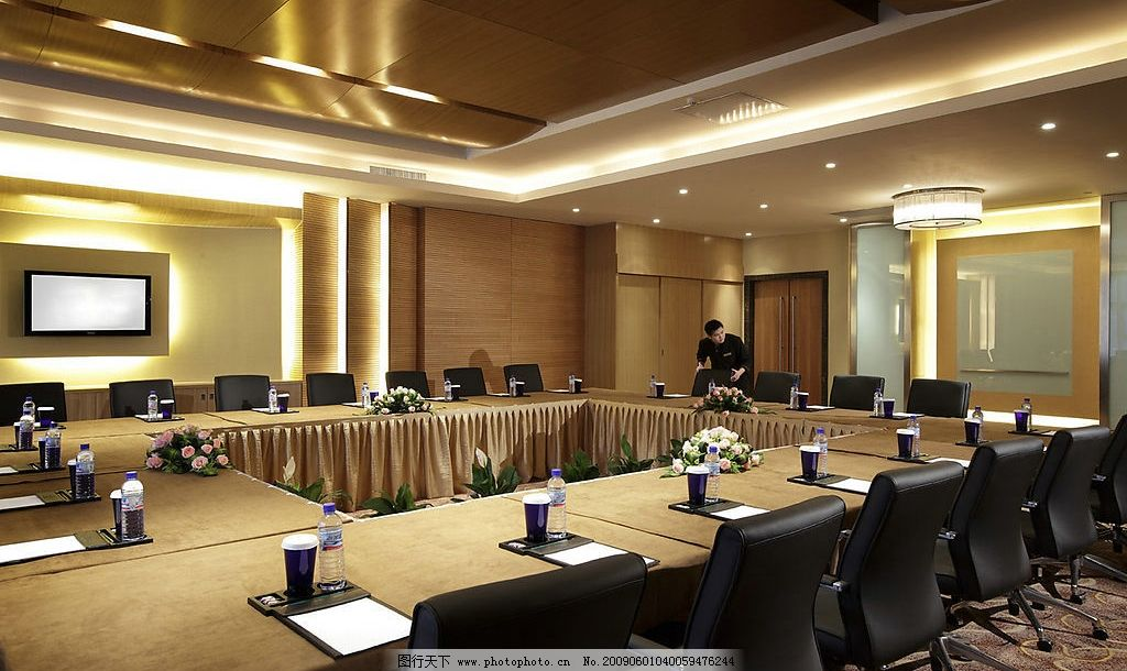 酒店会议室 酒店 会议室 五星级 商务金融 商务场景 摄影图库 100dpi