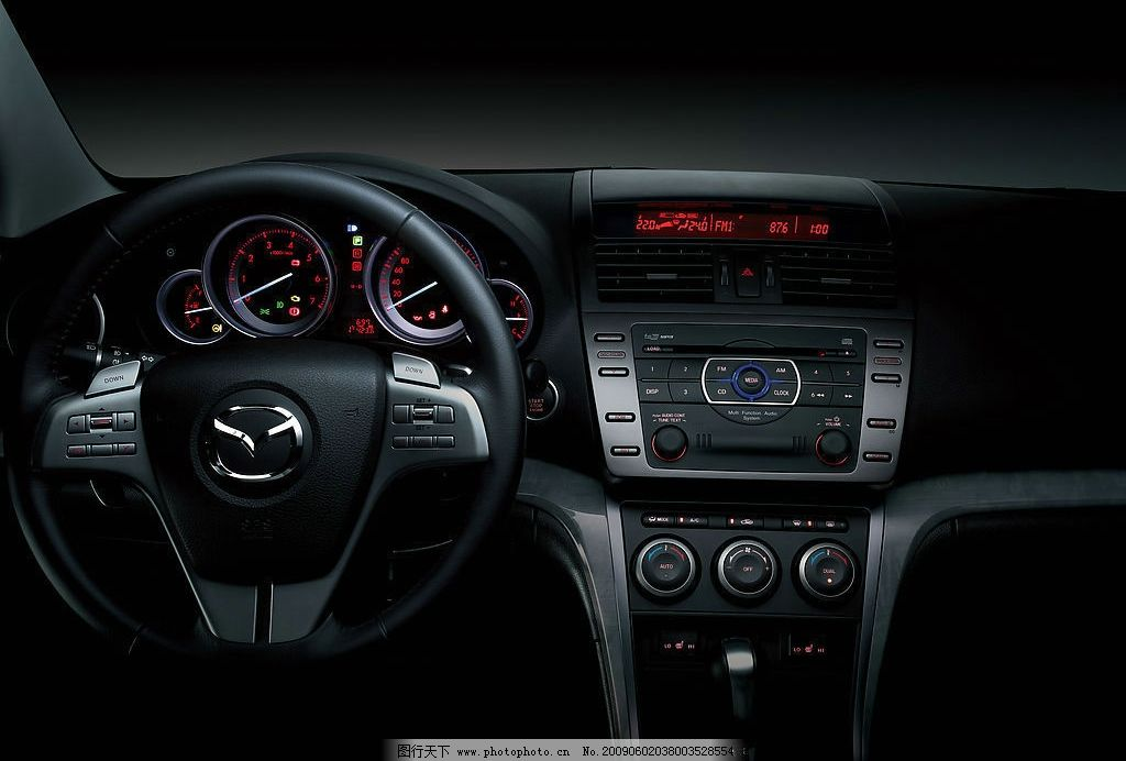 马自达 睿翼 车内摄影 海报 素材 质感 展板 现代科技 交通工具 摄影