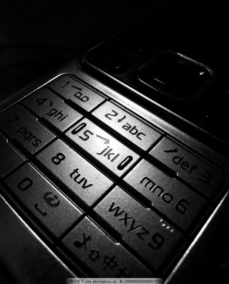 手机 键盘 通信 科技 低调 摄影图库