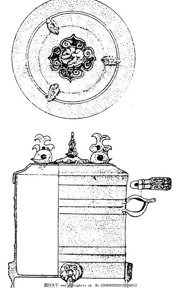 秦朝 汉朝 汉代 古代 古典 图案 花边 底纹 黑白 底纹边框 花边花纹