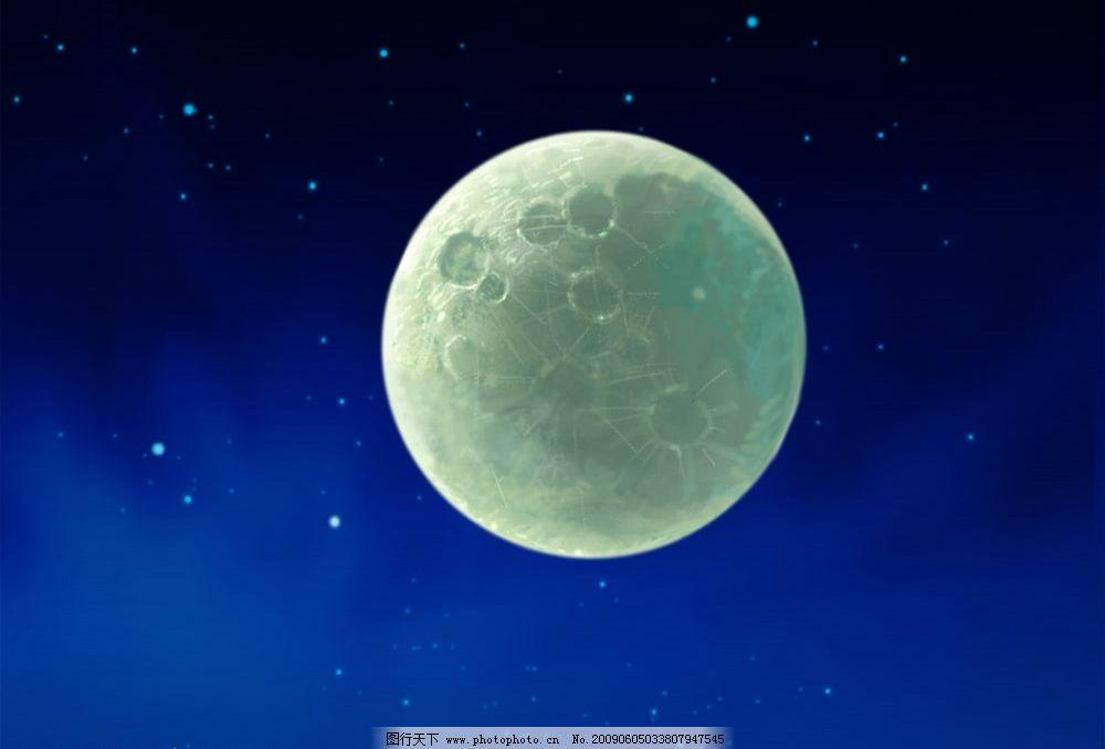卡通 月球 另类图片